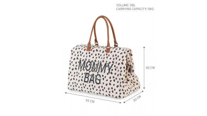 Mommy bag nursery leopardo [1]