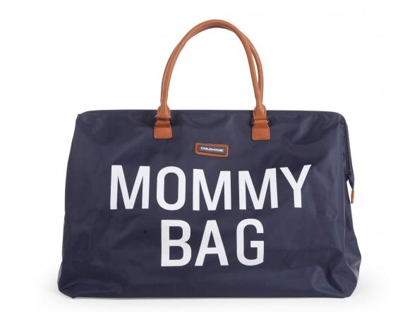 Mommy Bag Nursery Bag - Azul marino y blanca