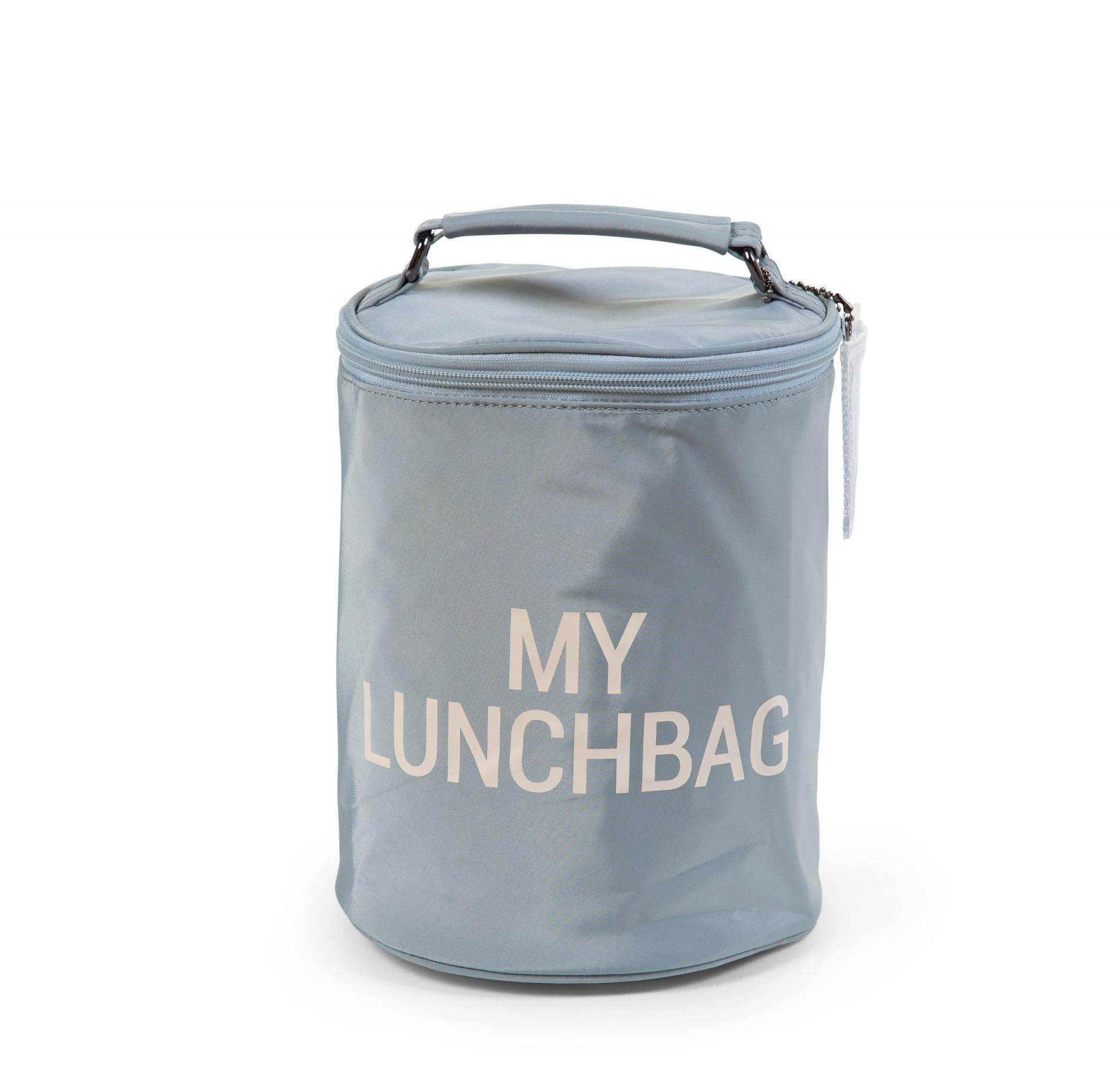 My Lunchbag - With Insulation Lining - Gris y blanco