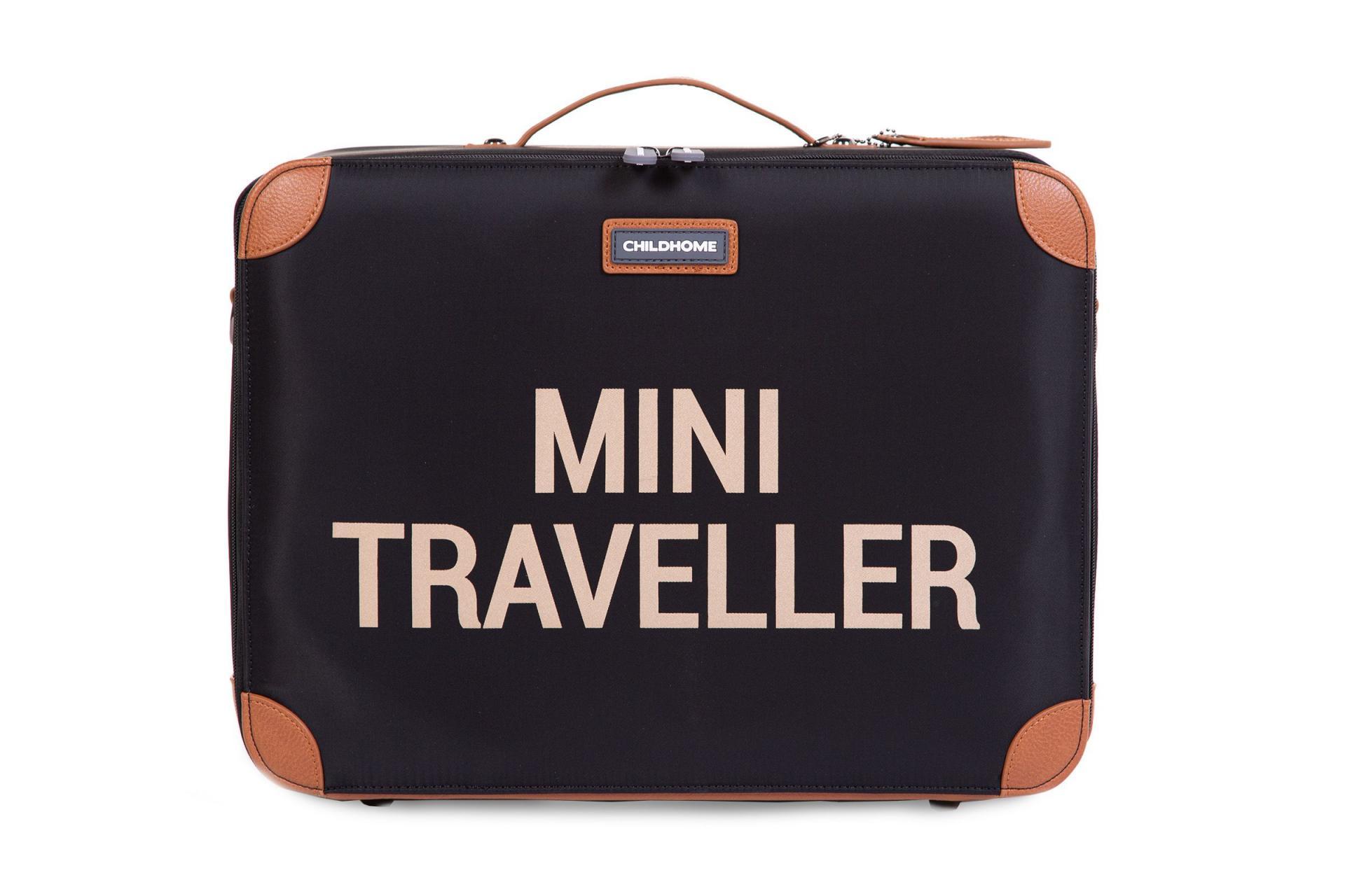 Mini traveller maleta negra
