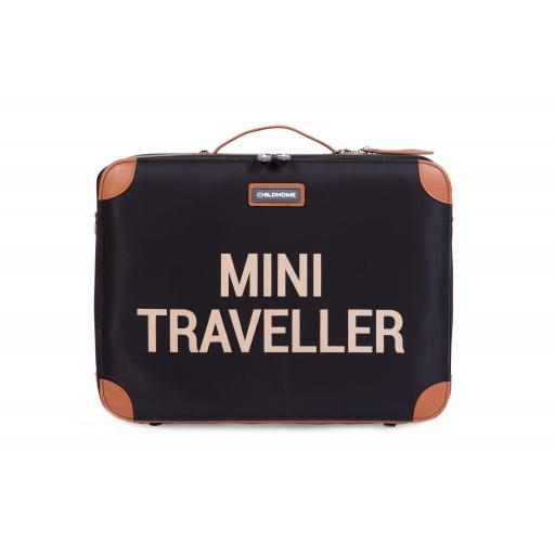 Mini traveller maleta negra