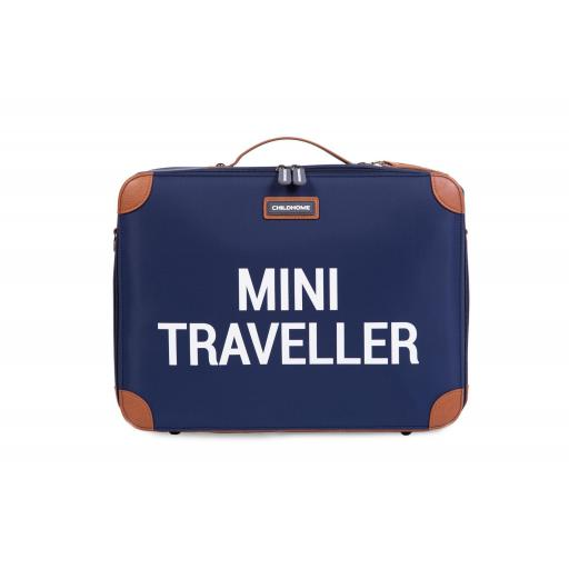 Mini traveller maleta azul marino