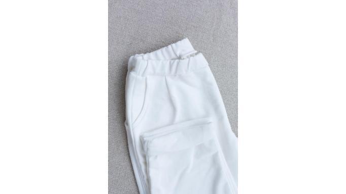 Pantalon punto crudo off white [1]