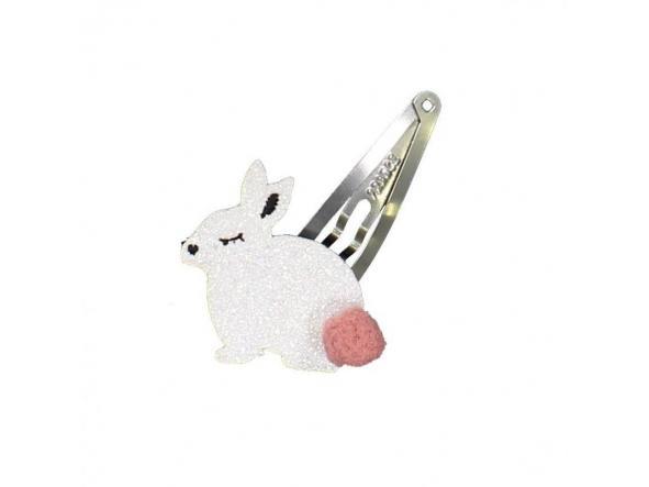 Horquilla conejo blanco