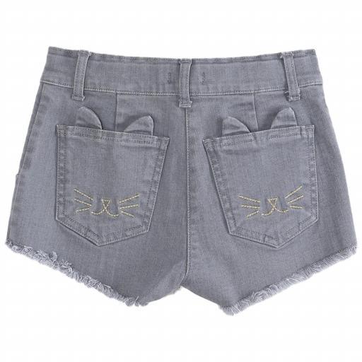 Pantalón corto gris [1]