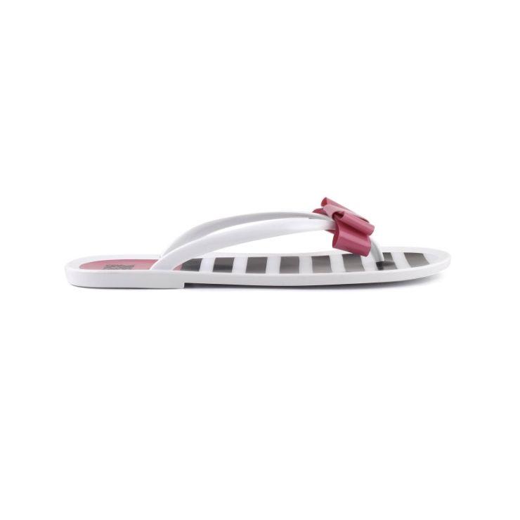 Jelly flip-flops striped