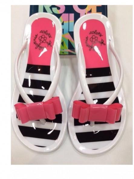 Jelly flip-flops striped [1]