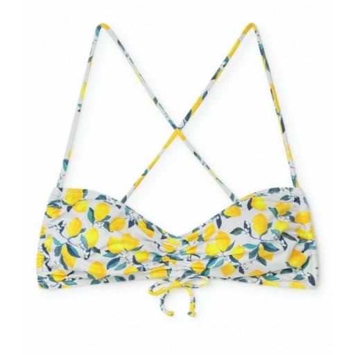 Bikini lemonade top frunce [0]
