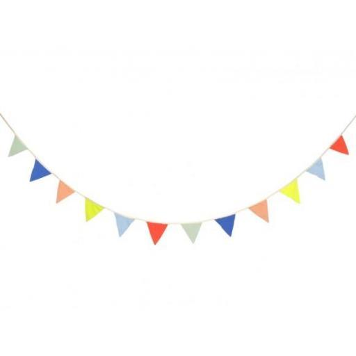 Guirnalda banderines tela  [2]