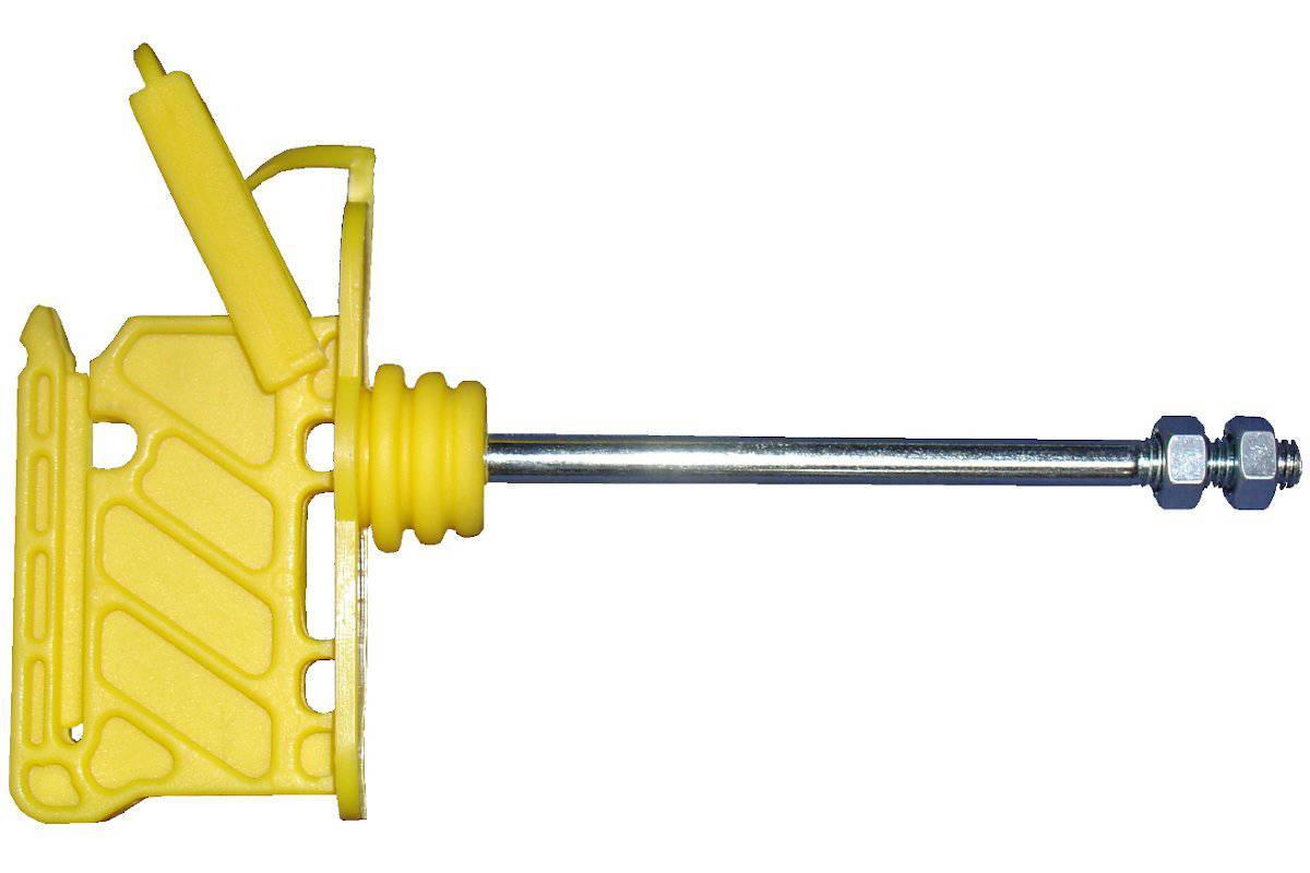 Aislador 10 cm de largo