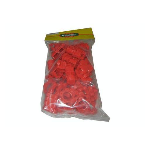 Aislador para varillas rojo