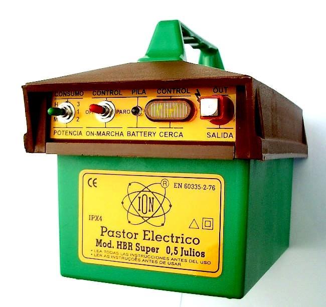 Pastor recargable automatico,500 Mjulios