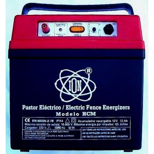 Pastor recargable con mando a distancia