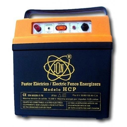 Pastor electrico pila grande