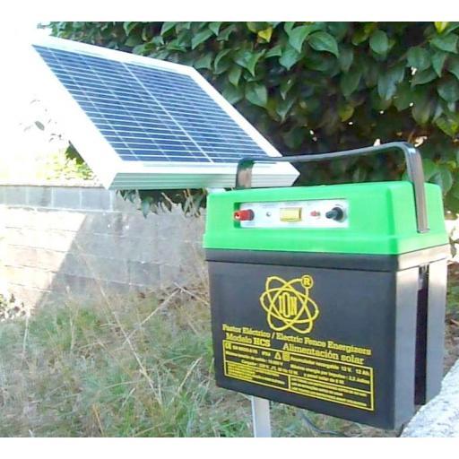 Pastor solar con GPS
