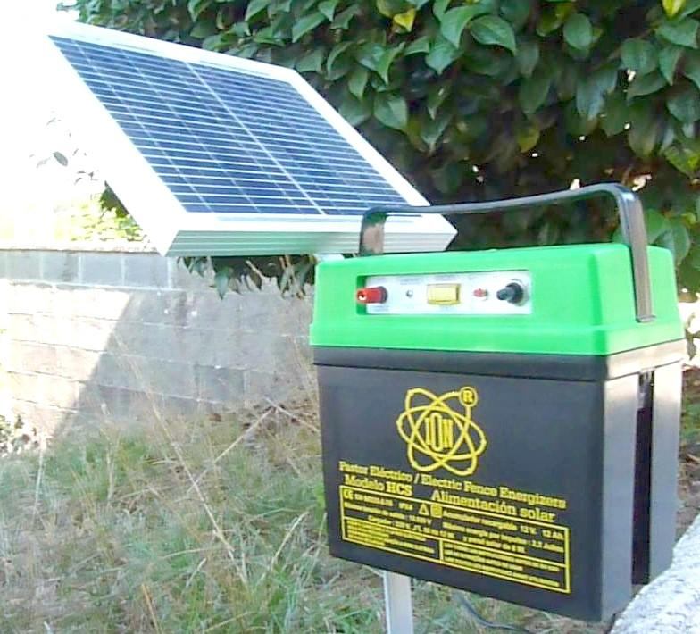 Pastor solar automatico