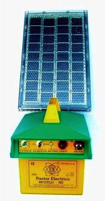 Pastor solar 400Mjul.