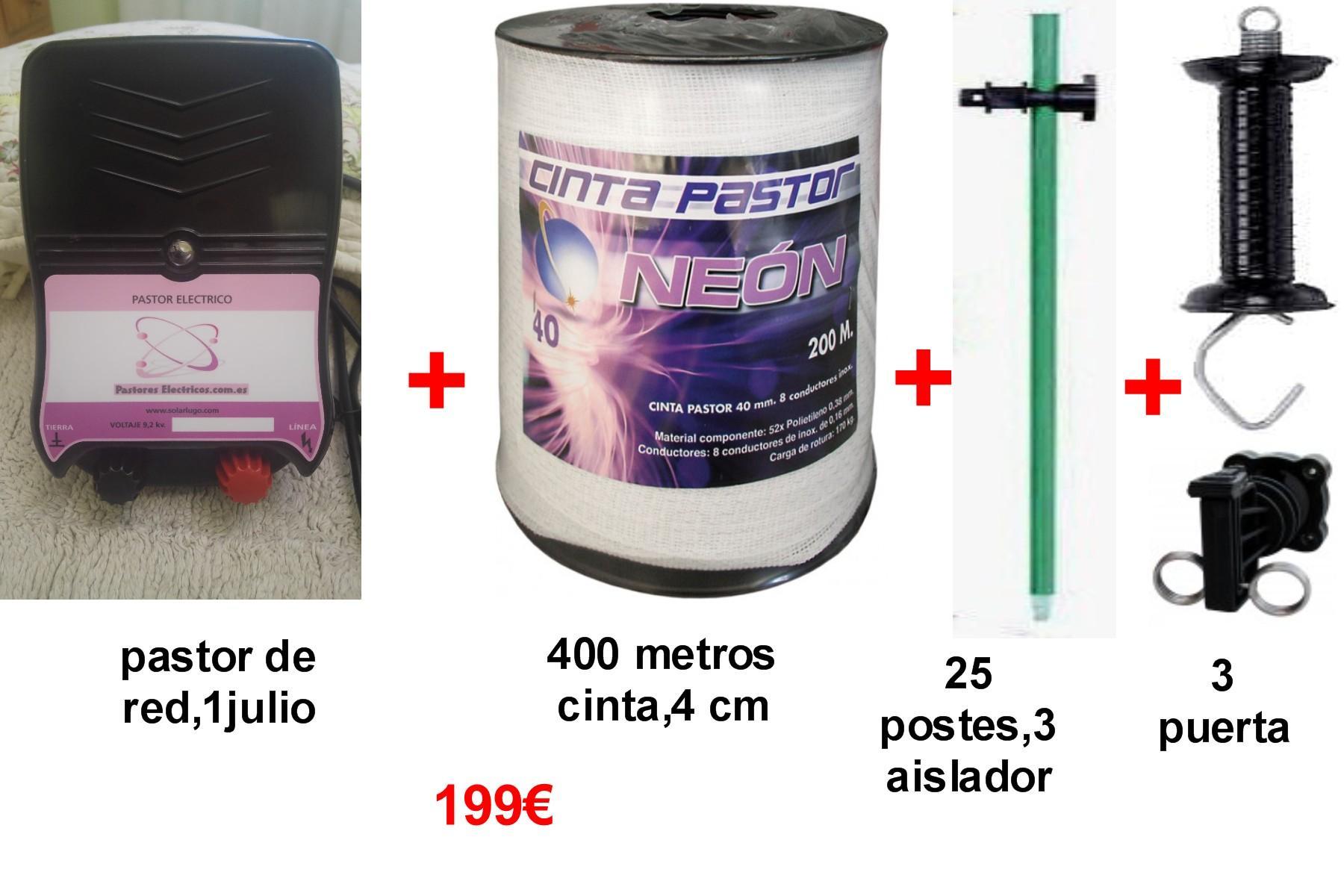 Kit pastor electrico de red