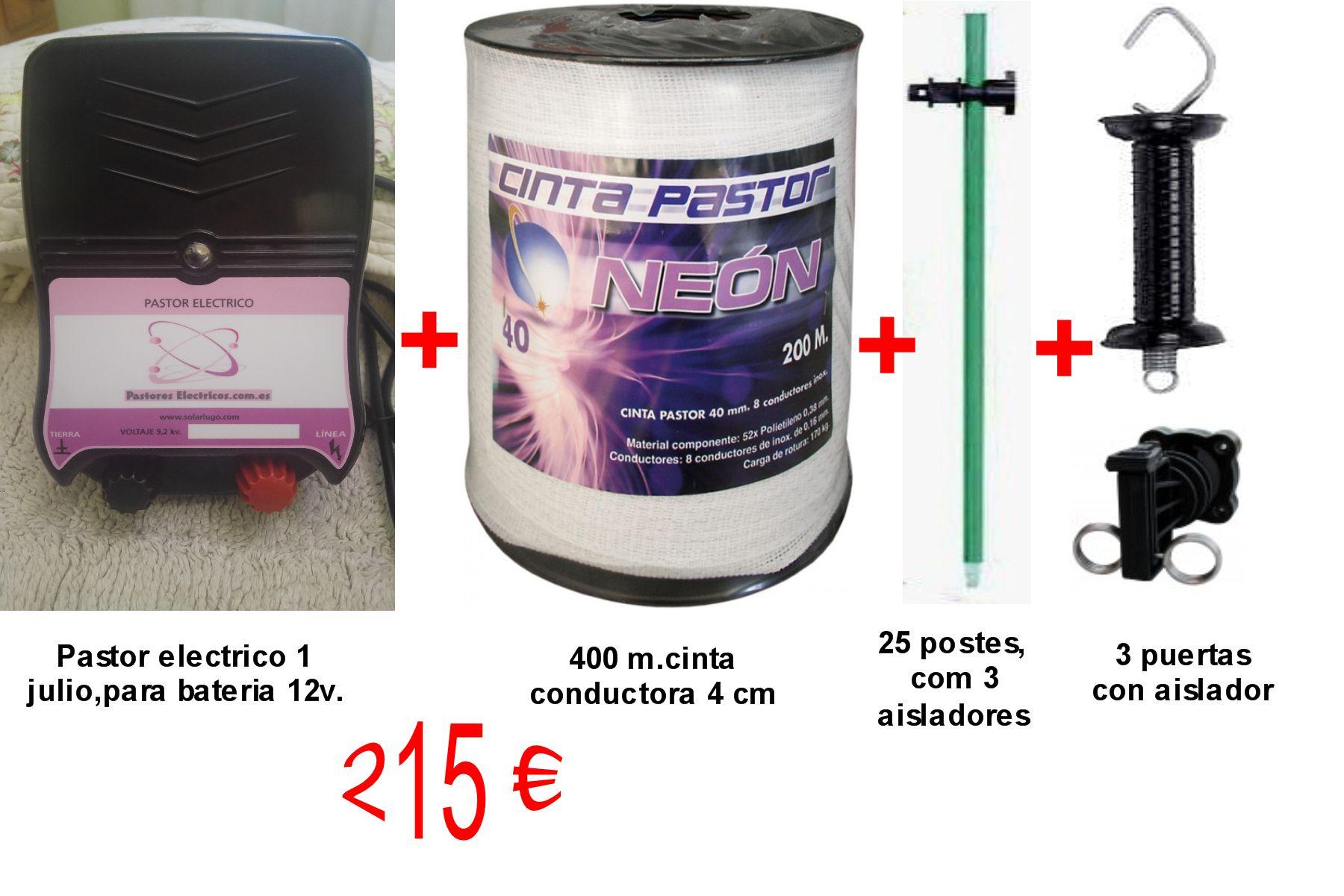 Kit mixto 12 voltios/220 voltios