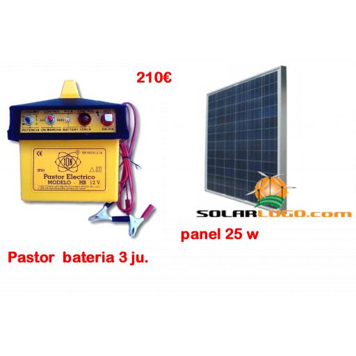 Pastor solar 3 julios
