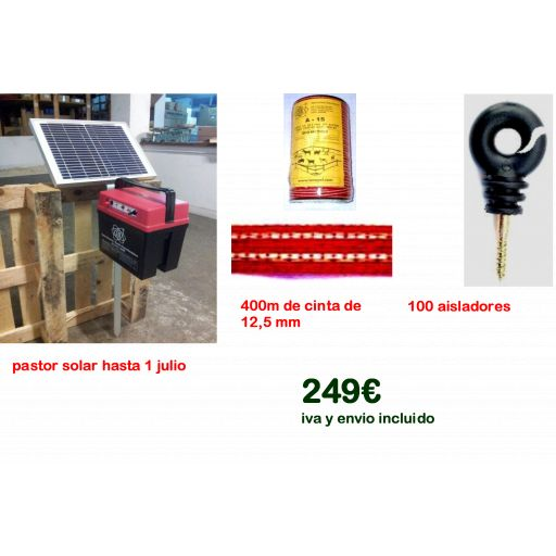 Kit solar para caballos.........