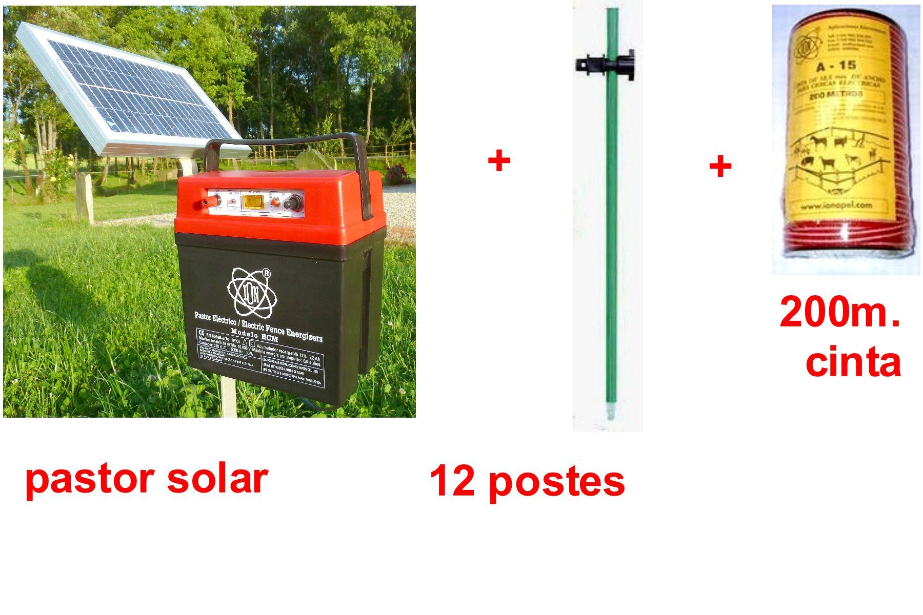 Kit pastor electrico solar