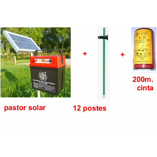 Kit pastor electrico solar