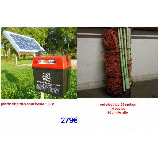 Kit solar con malla