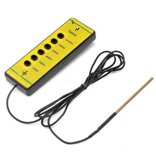 Comprobador de cercas hasta 10.000 voltios [1]