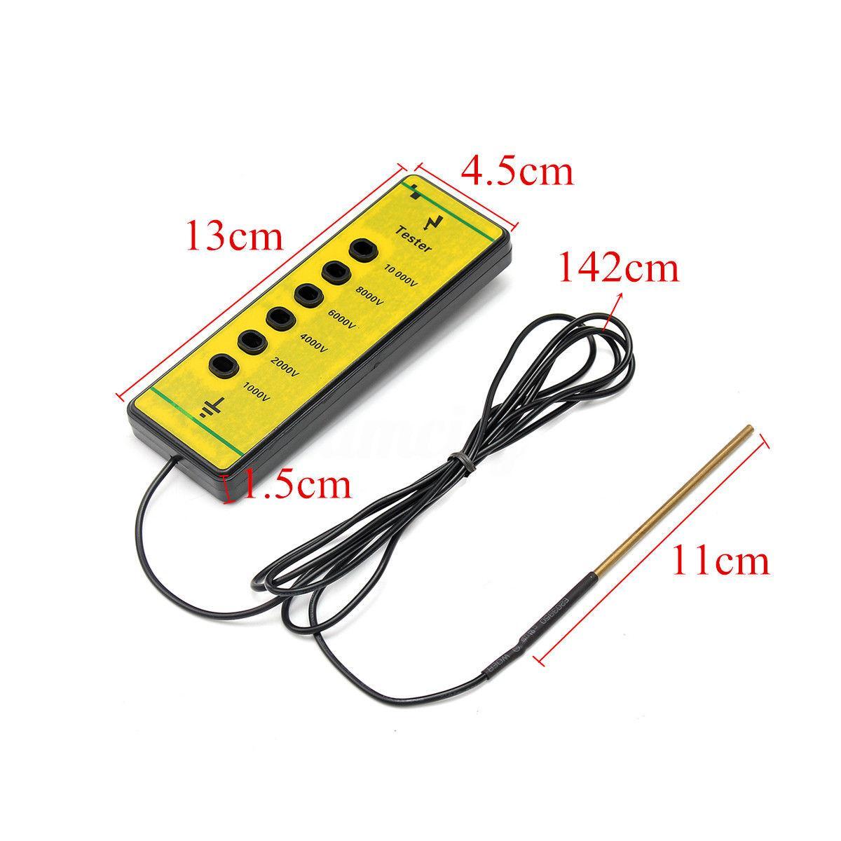 Comprobador de cercas hasta 10.000 voltios