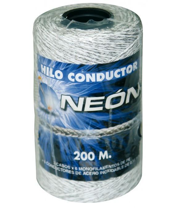 Hilo de nylon 6 conductores