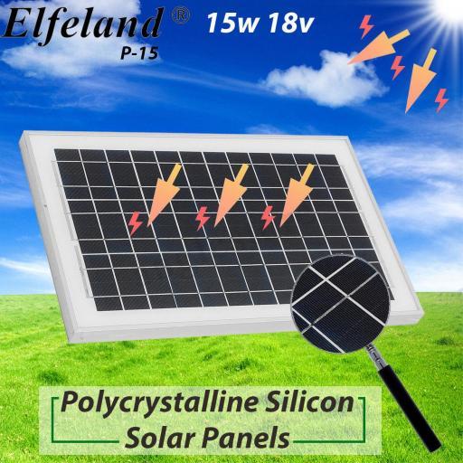 Panel solar 15 watios