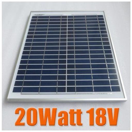 Panel solar 20 watios