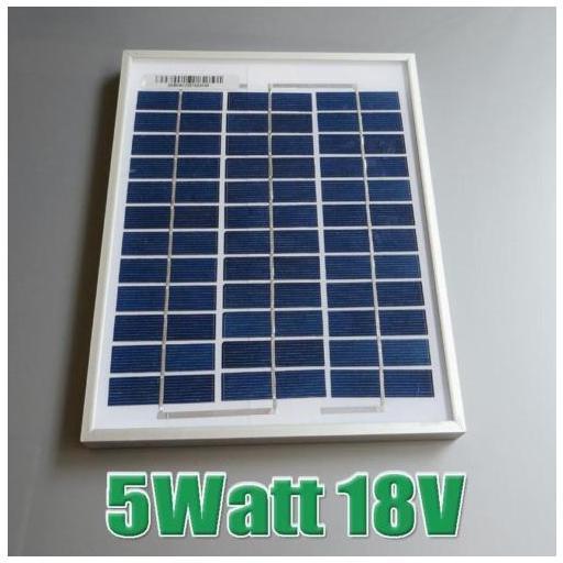 Panel solar 5 watios