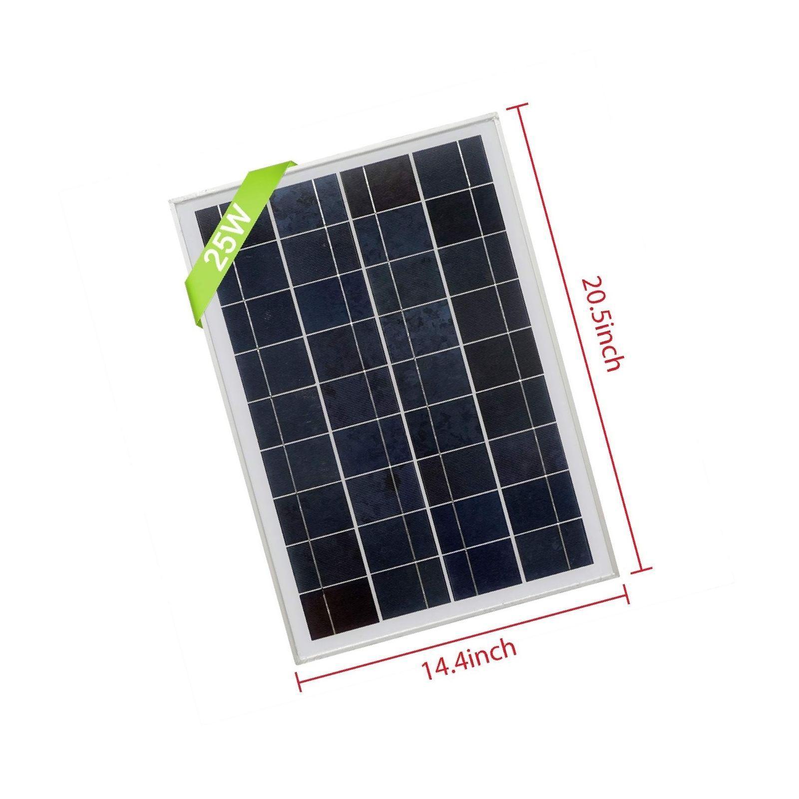 Panel solar 25 watios