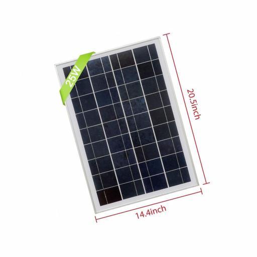 Panel solar 25 watios [0]