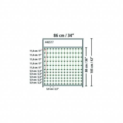Puerta para malla electrica hasta 107 cm [2]
