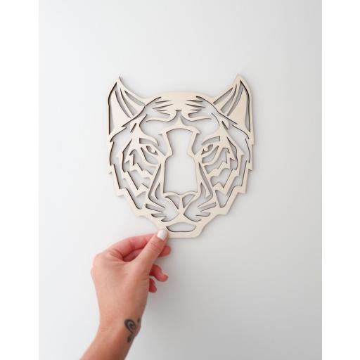 Cabeza animal geométrica [2]