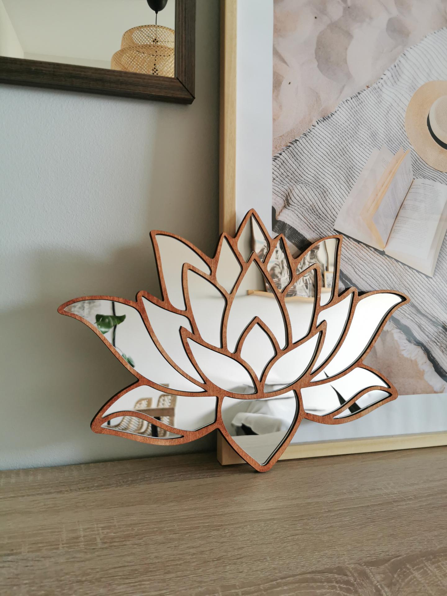 Espejo Flor de Loto