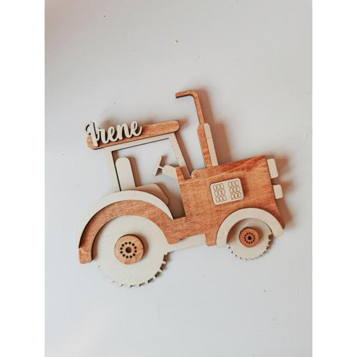 Tractor wood