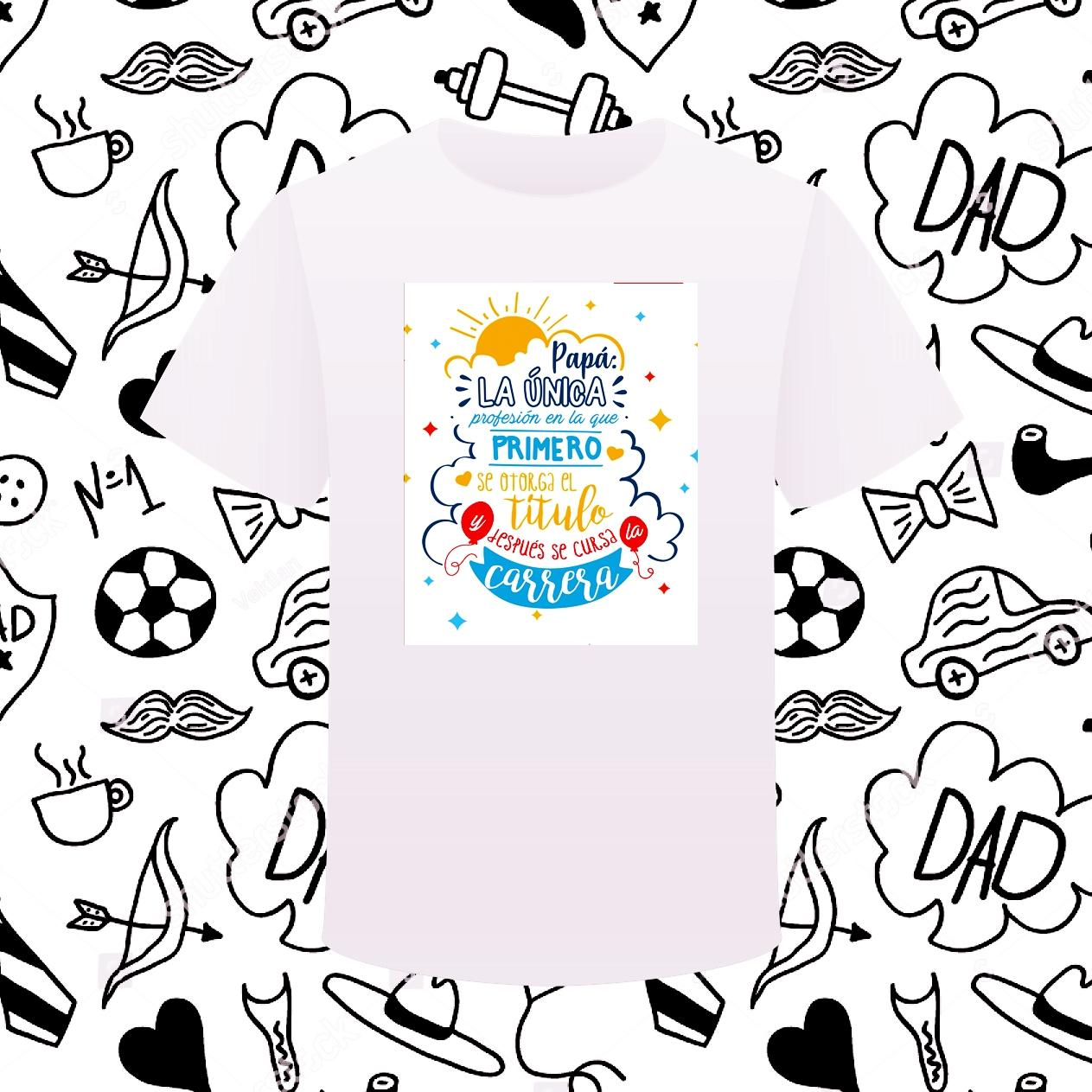 Camiseta TITULO PAPÁ