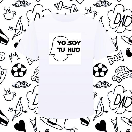 Camiseta SOY TU HIJO