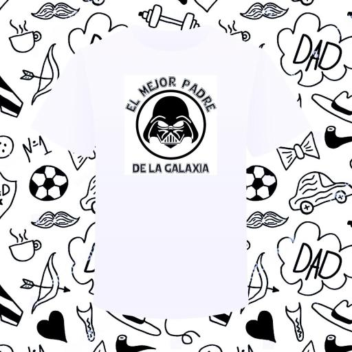 Camiseta EL MEJOR PADRE