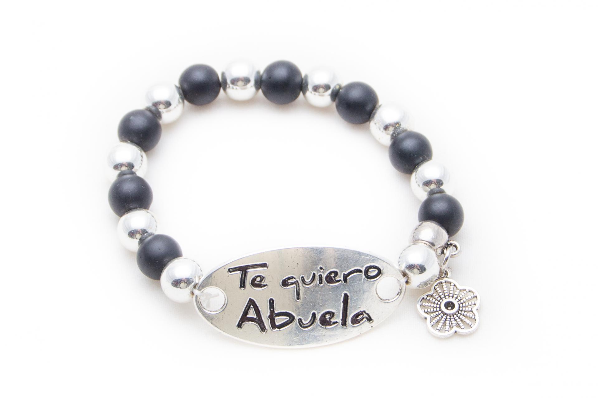 Pulsera personalizada Te quiero abuela