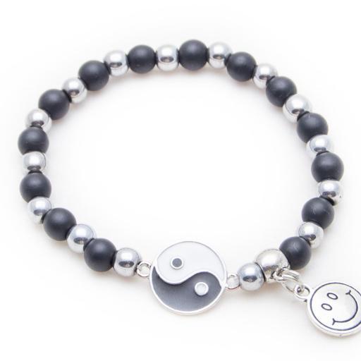 Pulsera personalizada Yin y yang