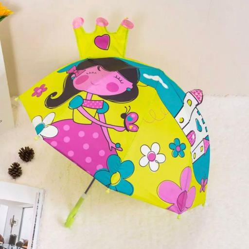 Paraguas niña 3D AliExpress barato
