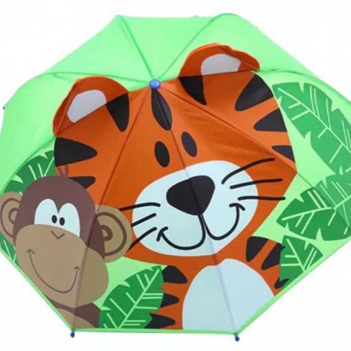Paraguas niño 3D AliExpress barato