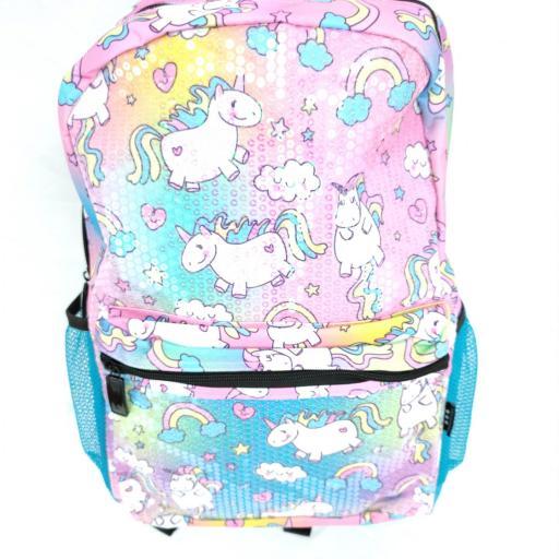 mochila niña unicornios barata aliexpress