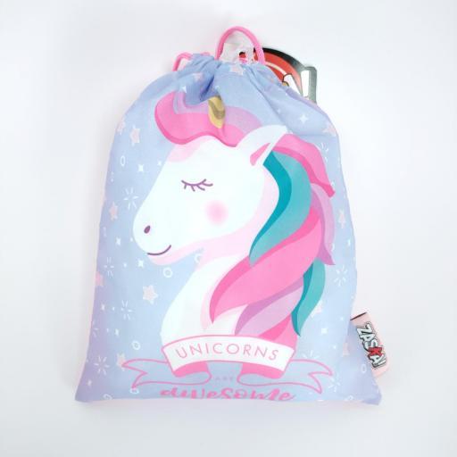 bolsa de merienda unicornio amazon