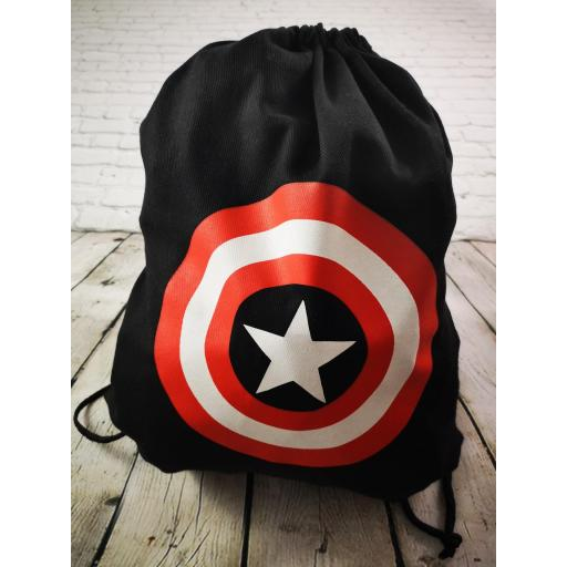 Mochila de deporte Capitán América